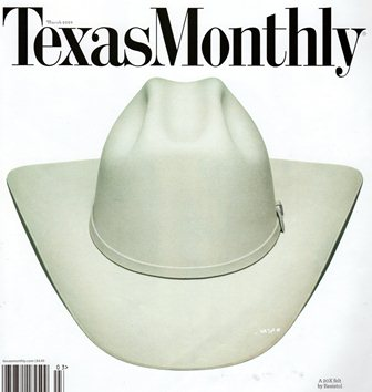 8ee3391a5ad14 Texas Monthly Magazine Cover March 2009